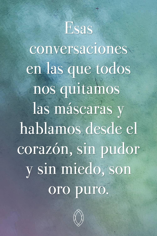 Conversaciones sinceras frente a la falsedad de la gente