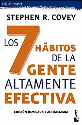 Mejores libros de desarrollo personal y liderazgo: los 7 hábitos de la gente altamente efectiva - Covey